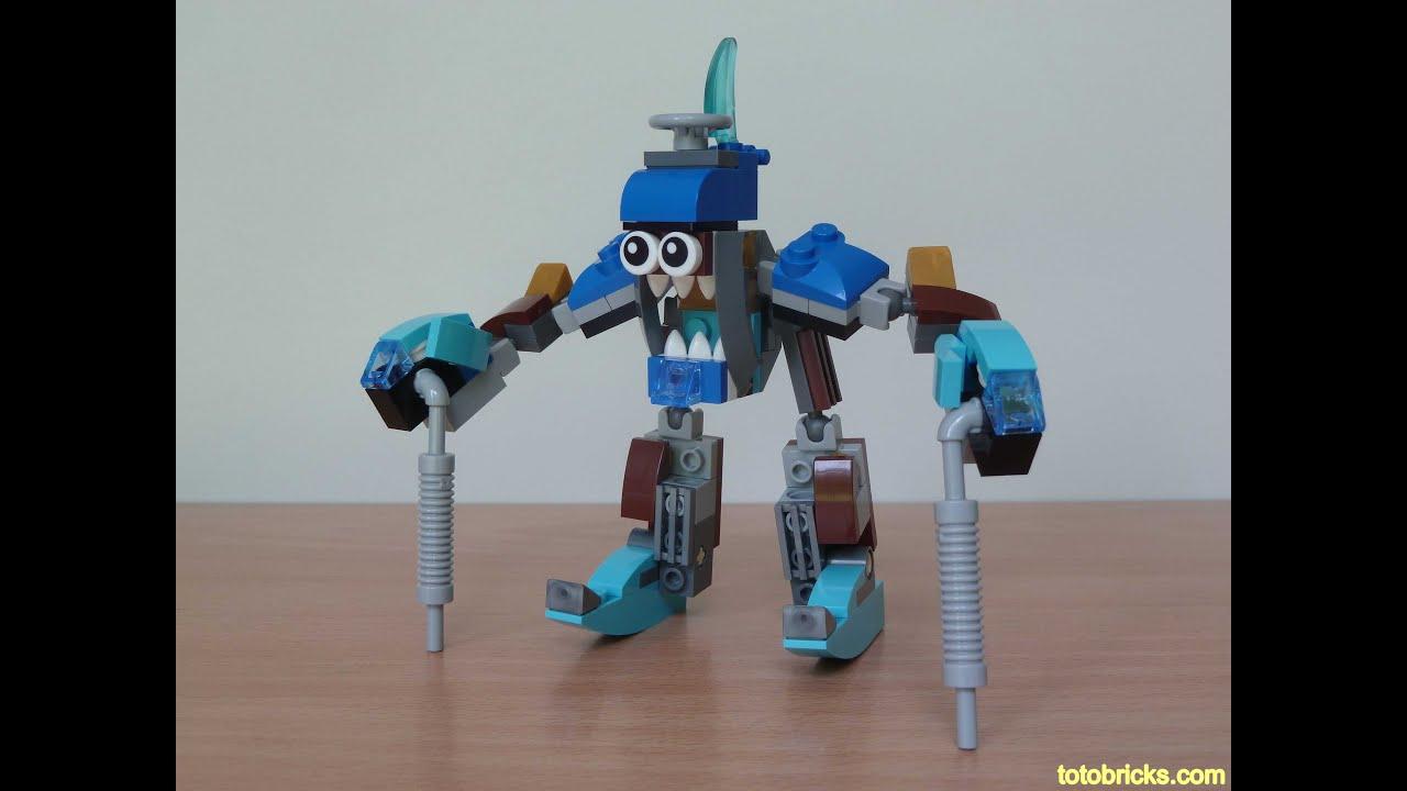 LEGO MIXELS JINKY SNOOF MIX Lego 41537 Lego 41541 Mixels Series 5 - YouTube