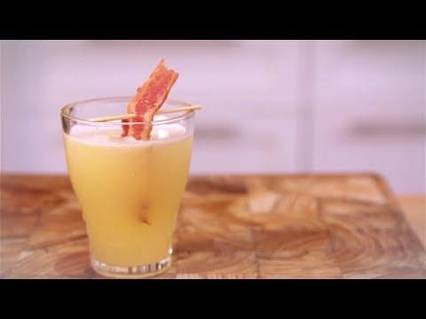 Bacon-Infused Vodka Breakfast Shots