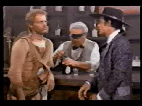 Gun-slap scene from Trinity