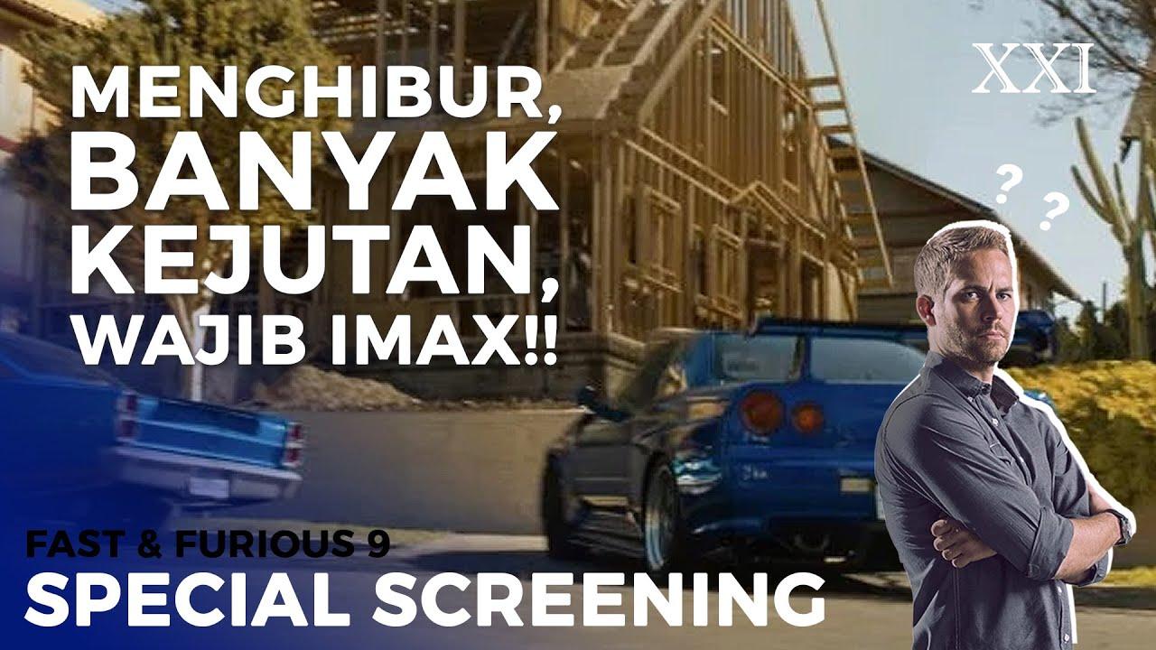 PERTARUNGAN BESAR, WAJIB LAYAR BESAR! | Special Screening Fast & Furious 9