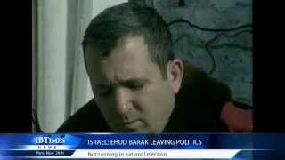 Israel: Ehud Barak leaving politics