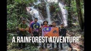 Wild Camping Malaysia - Waterfall (Lata Pecah Tujuh,Trolak,Malaysia)