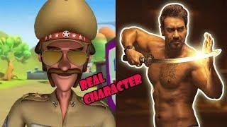 Motu Patlu Characters In Real life 2019