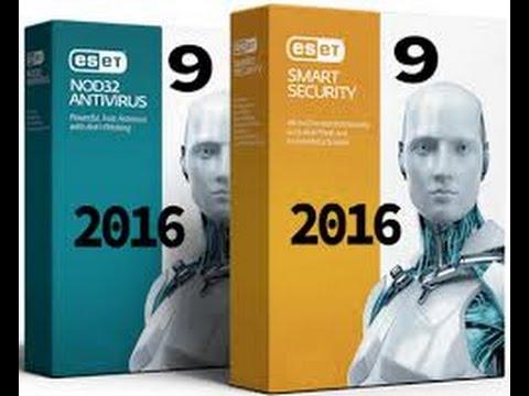 أقوى انتي فايروس مع التفعيل بسيريال 2016 Eset Smart