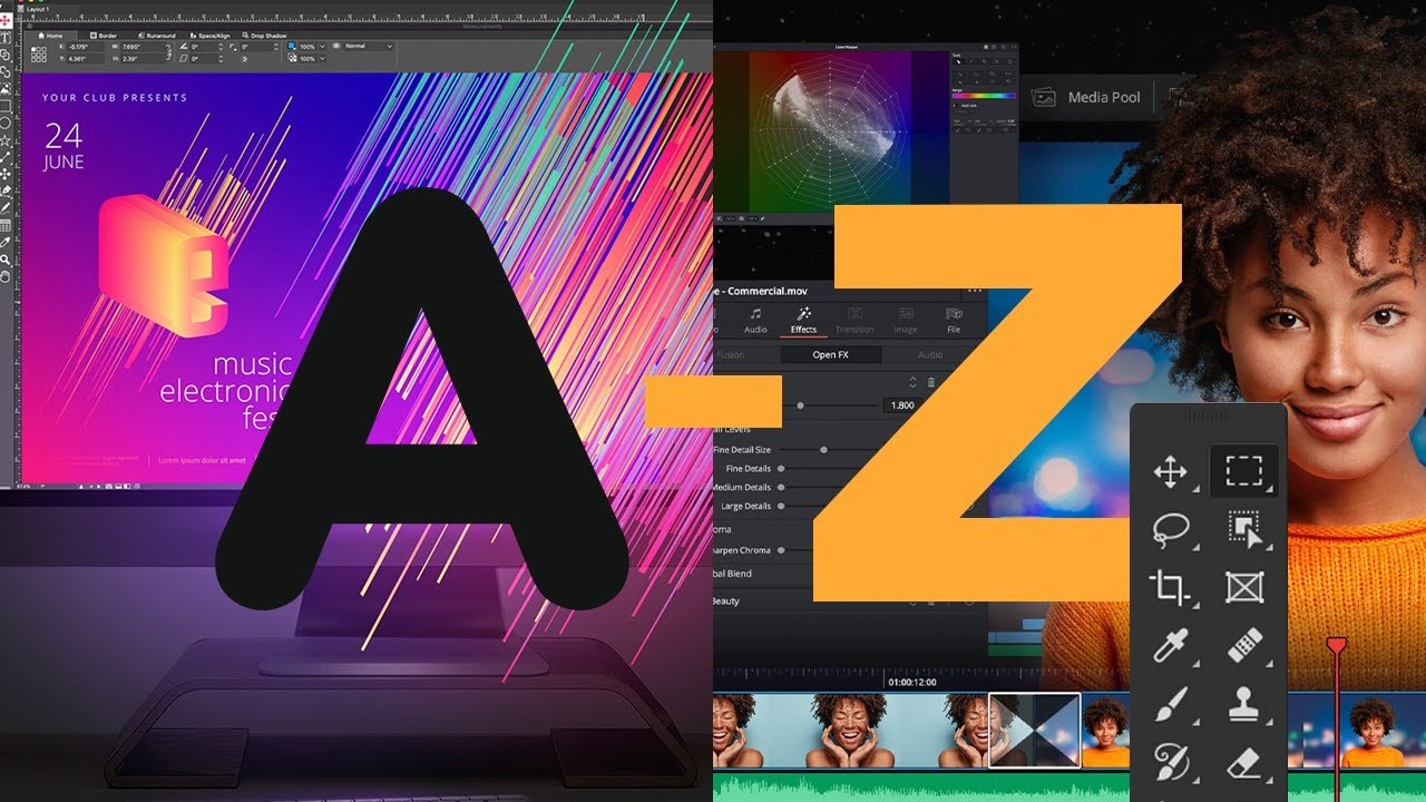A to Z of Graphic Design Software: InDesign, Affinity Designer and More! (Free & Premium)