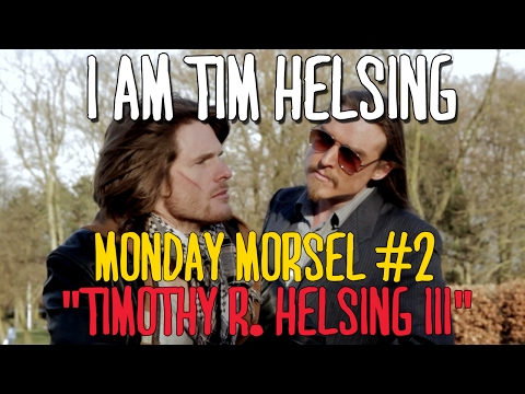 "I Am Tim : Monday Morsel #2 : ""TIMOTHY R. HELSING III."""