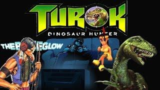 the blue glow turok dinosaur hunter