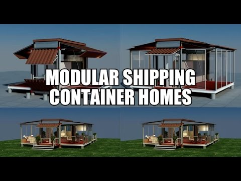 Modular Container Homes modular shipping container homes - youtube