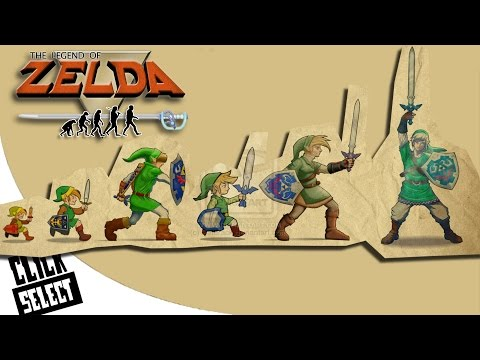 The Evolution Of Graphics: Nintendo - The Legend Of Zelda (Console Edition)