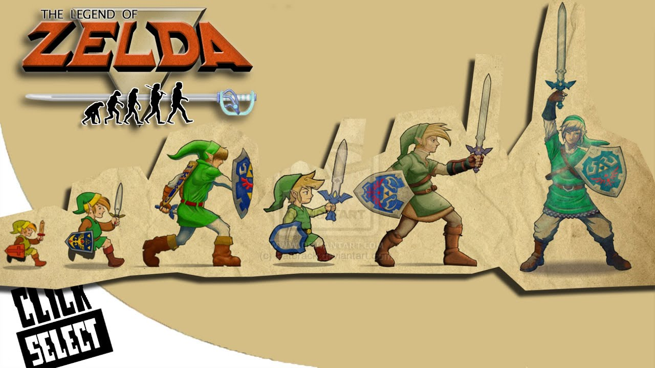 the evolution of graphics nintendo the legend of zelda console