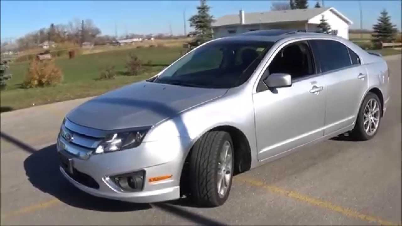 2011 ford fusion sel v6 awd review start up and walkaround youtube. Black Bedroom Furniture Sets. Home Design Ideas