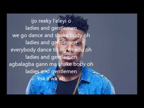 Reekado Banks - Ladies and Gentlemen (lyrics)