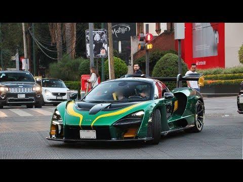 Primer McLaren Senna sobre las calles de México!