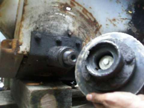 Hub removal 463 Bobcat skid steer