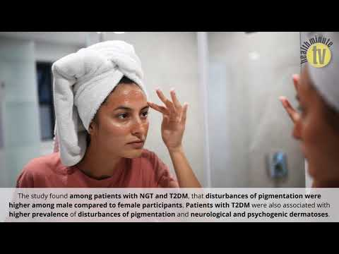 VIDEO: Researchers link type 2 diabetes to increased prevalence of skin diseases