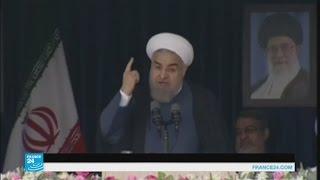 حسن روحاني يرد على مشروع عقوبات الكونغرس الأمريكي ضد بلاده