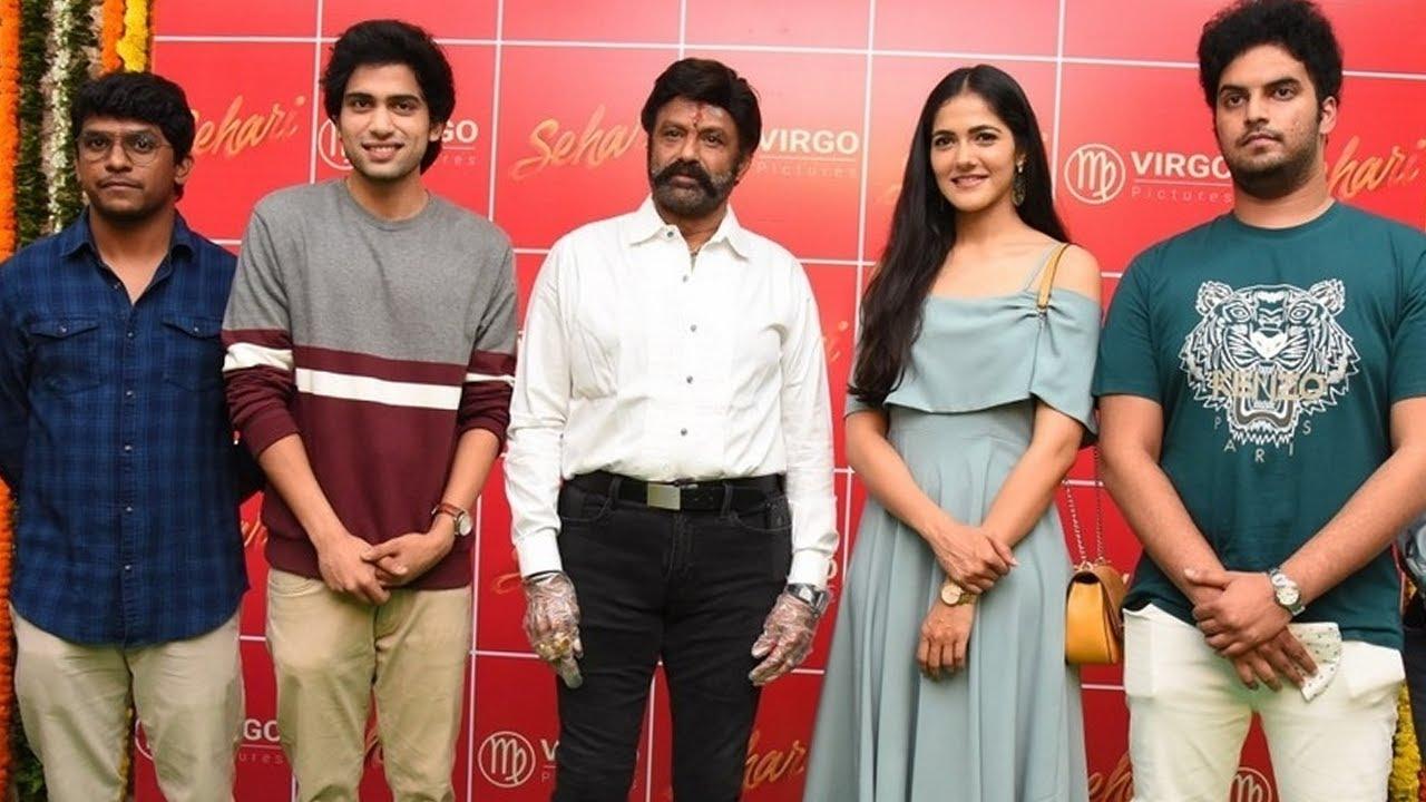 Nandamuri Balakrishna Launches Sehari Movie First Look | NTV Entertainment  - YouTube