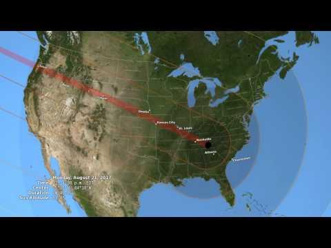 2017 Total Solar Eclipse in the U.S.