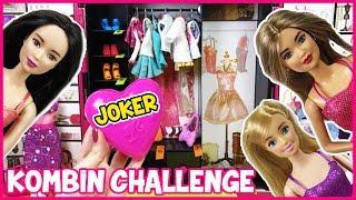 Barbie Kombin Challenge Kağıttan Ne Çıkarsa Joker Çıktı Dila Kent