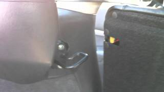 Focus RS Sparco Sitze im Focus Turnier - Adapter Rücksitzbank