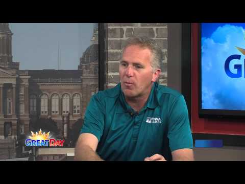 6-2-15 Summer Iowa Games with Chuck Long