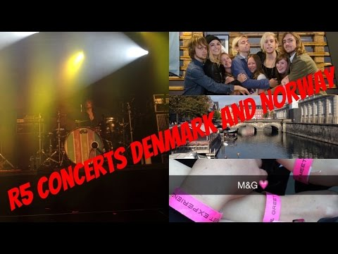 R5 concerts Denmark and Norway