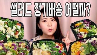 샐러드 4주 정기배송 후기(다신샵 한스푼 샐러드), 샐…