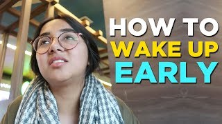 How To Wake Up Early | #RealTalkTuesday | MostlySane