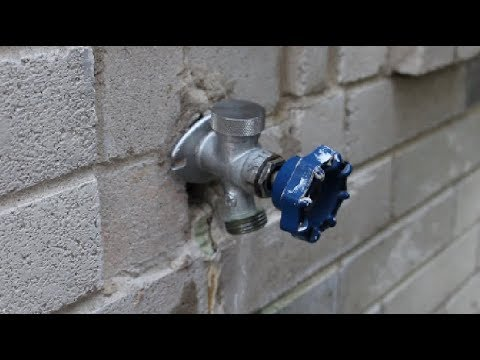 How To Replace Garden Faucet Outside Spigot