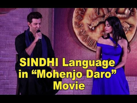 Sindhi Language in Mohenjo Daro Movie