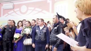 Свадьба байкеров. Благовещенск, 2017.
