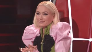 Gwen Stefani BREAKS DOWN in Tears on The Voice