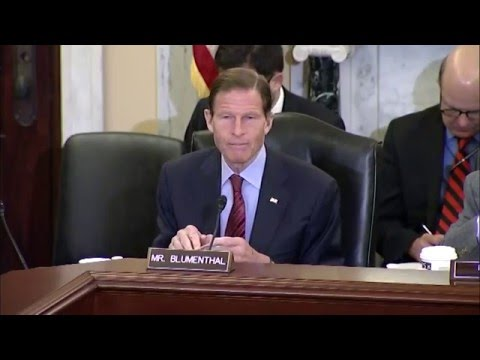Sen Blumenthal Presses VA Secretary to Streamline Disability Claims Appeals Process