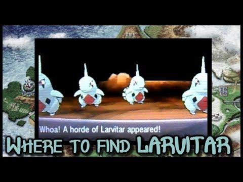 POKEMON XY - Where to find LARVITAR!!