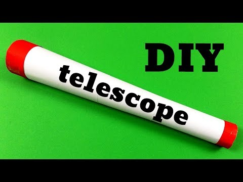 How to make a telescope out of paper easy origami
