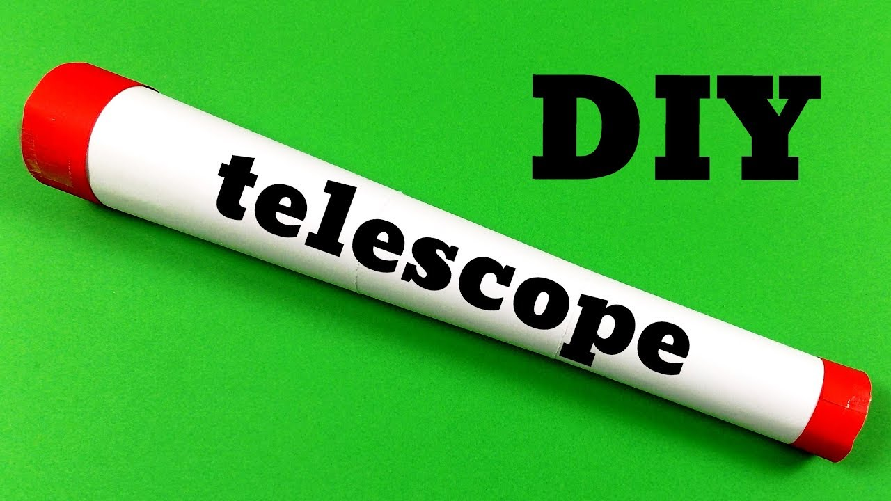 If you've ever visited arts & crafts events, there is no way you've failed to witness the beauty in the craft. How To Make A Telescope Out Of Paper Easy Origami Youtube