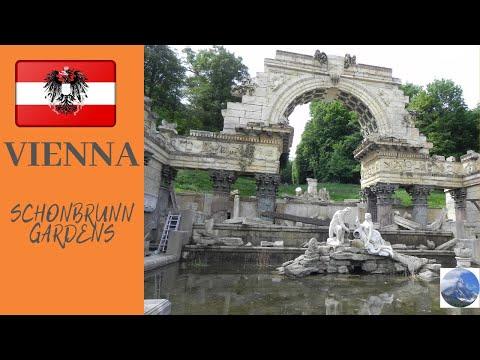 Schonbrunn-gardens-Vienna