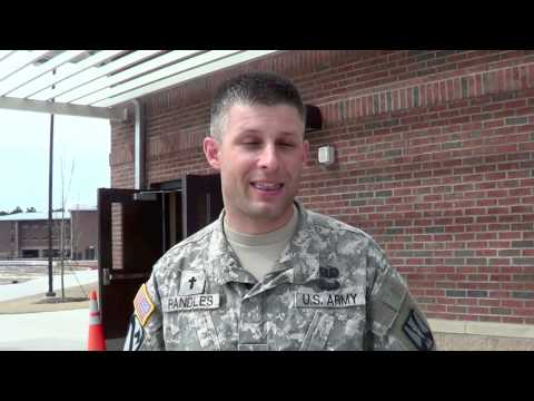 Army Chaplain Interview