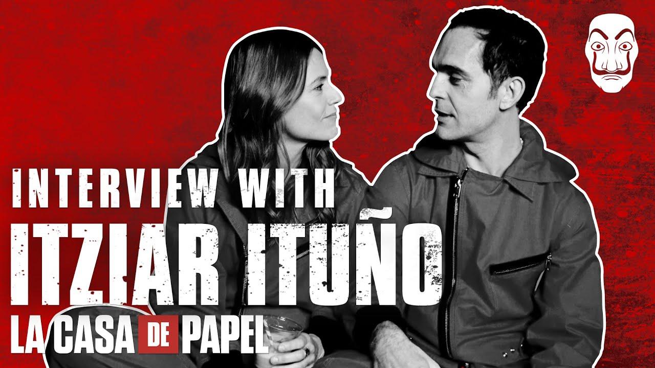 La Casa de Papel | Entrevista con Itziar Ituño | Netflix
