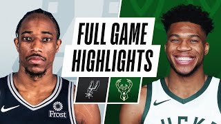 Game Recap: Bucks 120, Spurs 113