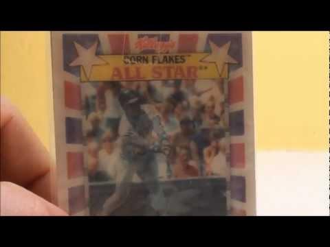 Kelloggs Hologram Bill Madlock Dodgers Baseball Card