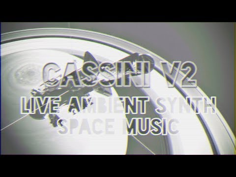 Spacey Ambient with Lofi Hip Hop Beats (Chill) - A live hardware synth jam