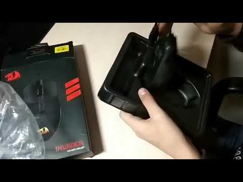 Мышь Redragon Invader RGB IR USB Black (78332)