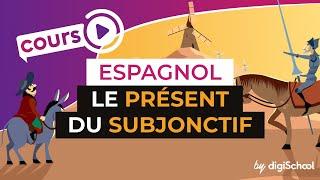 Le présent du subjonctif - Formation - Espagnol