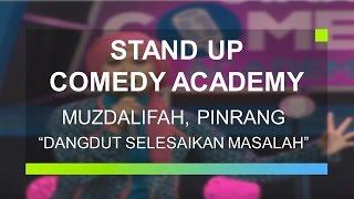 """Dangdut Selesaikan Masalah"" - Musdalifah (Ifa), Pinrang (Stand Up Comedy Academy 24 Besar)"