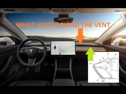 This Is How The Hvac Vents On Tesla Model 3 Work