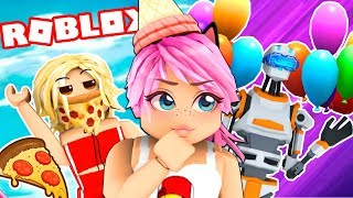 PARTY OF GLOBES & PIZZA ? ONE Roblox 🎈🍕