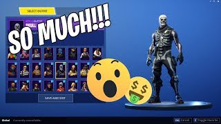 EVERY SKIN EVER In Fortnite - Battle Royale (Richest Account)
