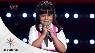 Sara en La Voz Kids | #ConLasEstrellas