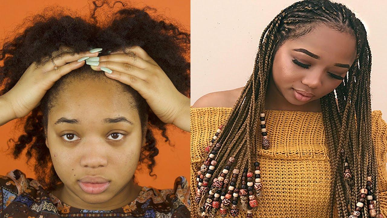 braids & beads tutorial (alicia keys inspired)